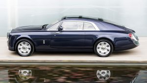 Rolls Royce Sweptail Launch