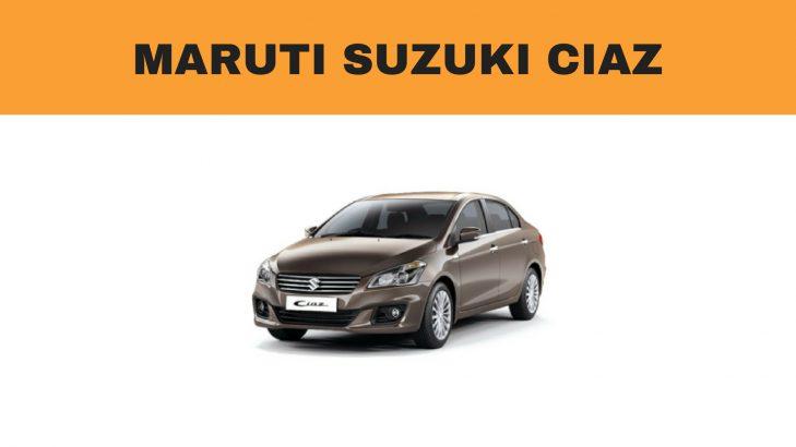 Maruti Ciaz ground clearance