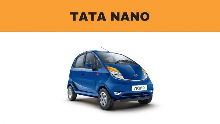 Tata Nano Ground Clearance