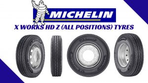 Michelin X Works HD Z All Positions Tyre