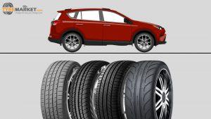 Mixed Tyre Tread