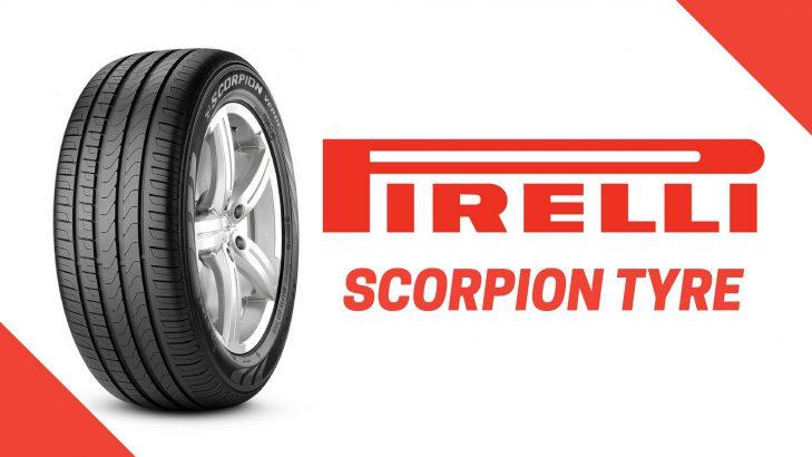 Pirelli Scorpion Tyre