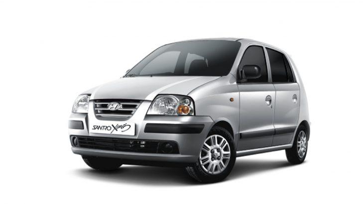 Hyundai Santro Xing car tyre