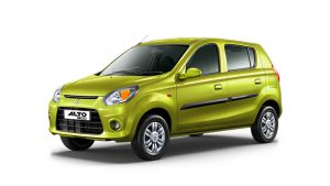 Maruti Alto 800 Ground Clearance