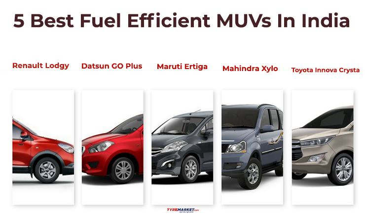 5 Best Fuel Efficient MUVs In India – Best Mileage MUV Cars