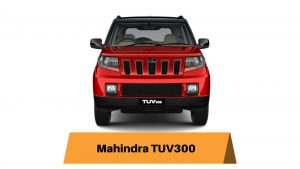 Mahindra TUV300 Ground Clearance