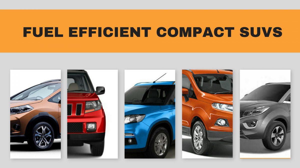 Top 5 Fuel Efficient Compact Suvs In India