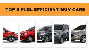 fuel efficient muvs in India