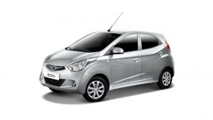 Hyundai Eon Ground Clearance