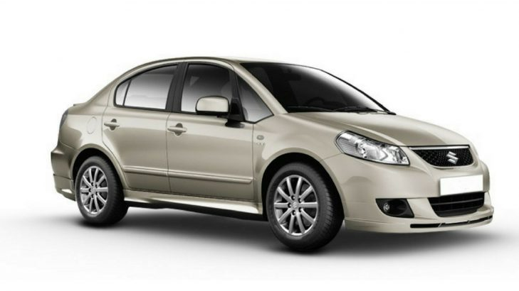 Maruti SX4 car tyres price list