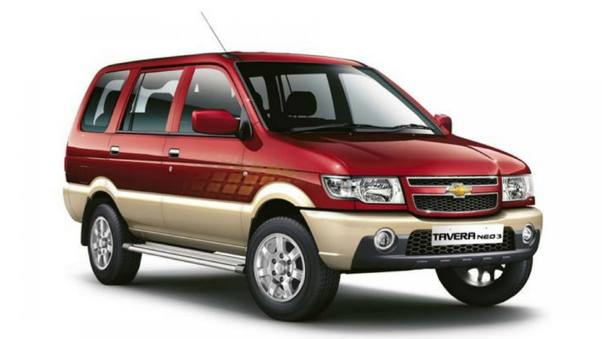 Chevrolet Tavera Car Tyres Price List