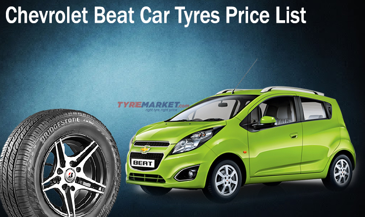 Chevrolet Beat Car Tyres Price List Buy Tyres Online In India