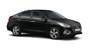 Hyundai Verna Ground Clearance
