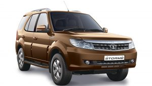 Tata Safari Storme Ground Clearance