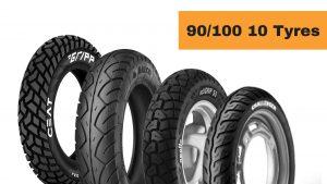 90/100 10 Tyres