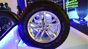 Goodyear Tyres at 2018 Auto Expo