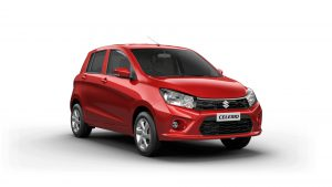 Maruti Celerio Ground Clearance