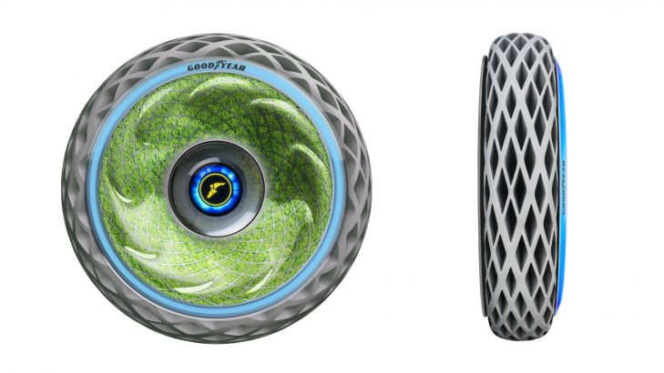Goodyear Unveils A New Concept Tyre, Oxygene