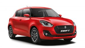 New Maruti Swift Ground Clearance