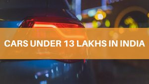 top 13 cars under 10 lakhs in India