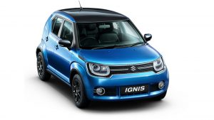 Nexa Maruti Ignis Ground Clearance