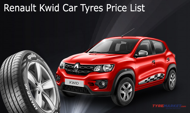 Renault Kwid Recommended Tyre Upsize – Renault Kwid Tyre Upsize Guide