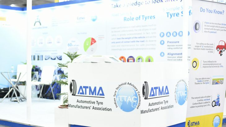 ATMA 'Tyre Safety Pavilion' Gets Overwhelming Response At Tyrexpo India 2018