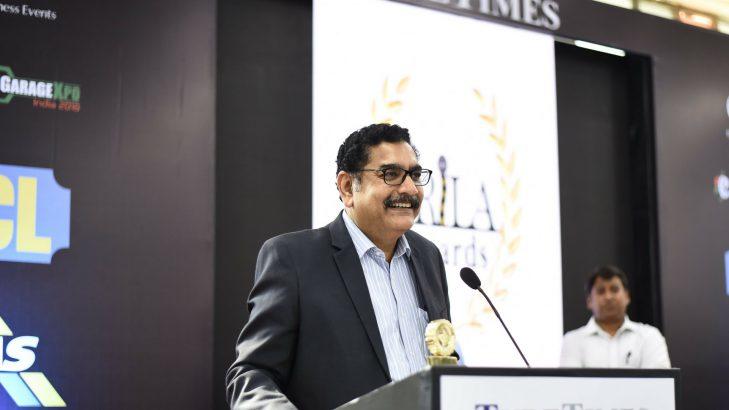 TRiLA Awards 2018 Sanjay Mathur Pirelli India