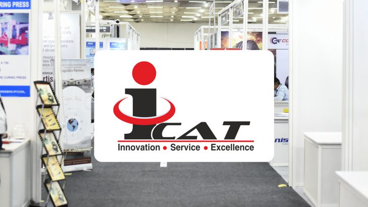 Exhibition Stall Types : Icat stall at the tyrexpo attracts good number of