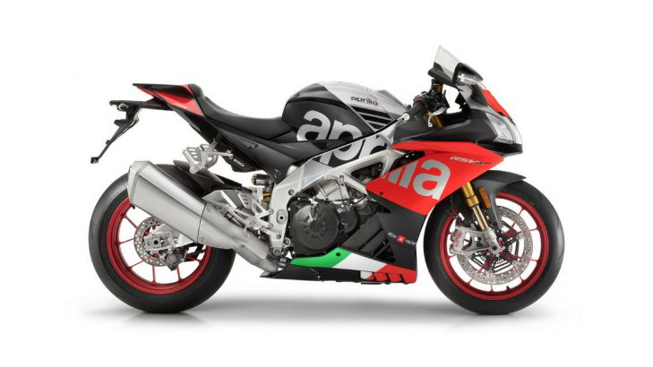 Aprilia RSV4 RF top speed