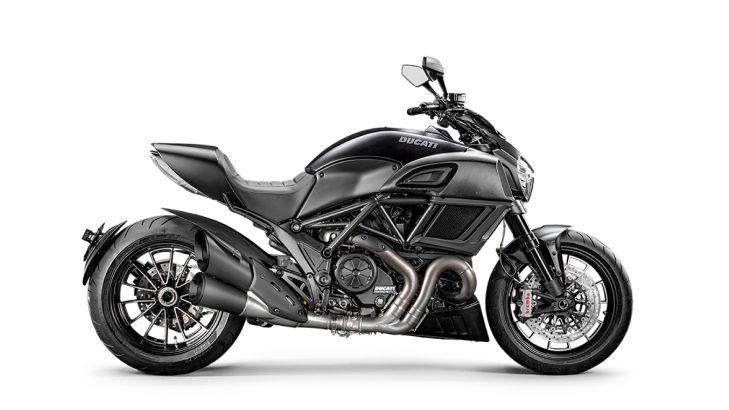Ducati Diavel top speed
