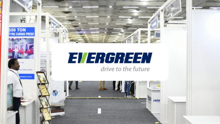 Evergreen Tyres Displays Its PCR Range At Tyrexpo India 2018