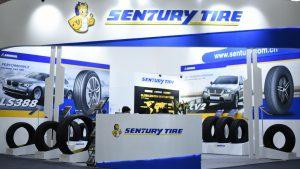Sentury Tires Tyrexpo India 2018