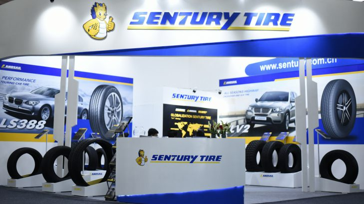 Sentury Tires, The Chinese Tyre Brand Makes Its Presence Felt At Tyrexpo India 2018