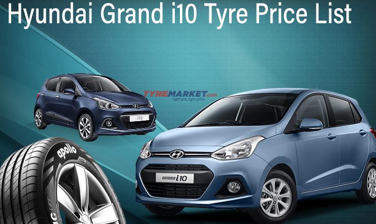 Hyundai Grand I10 Tyres Price List 2020 Hyundai I10 Tyre Size