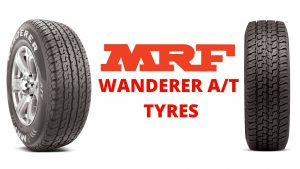 MRF Wanderer AT Tyres