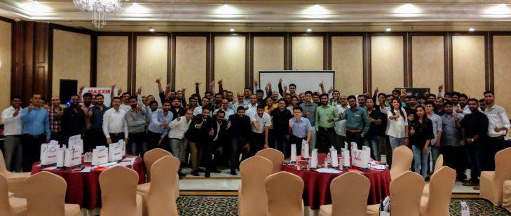 Maxxis tyres dealers meet Surat