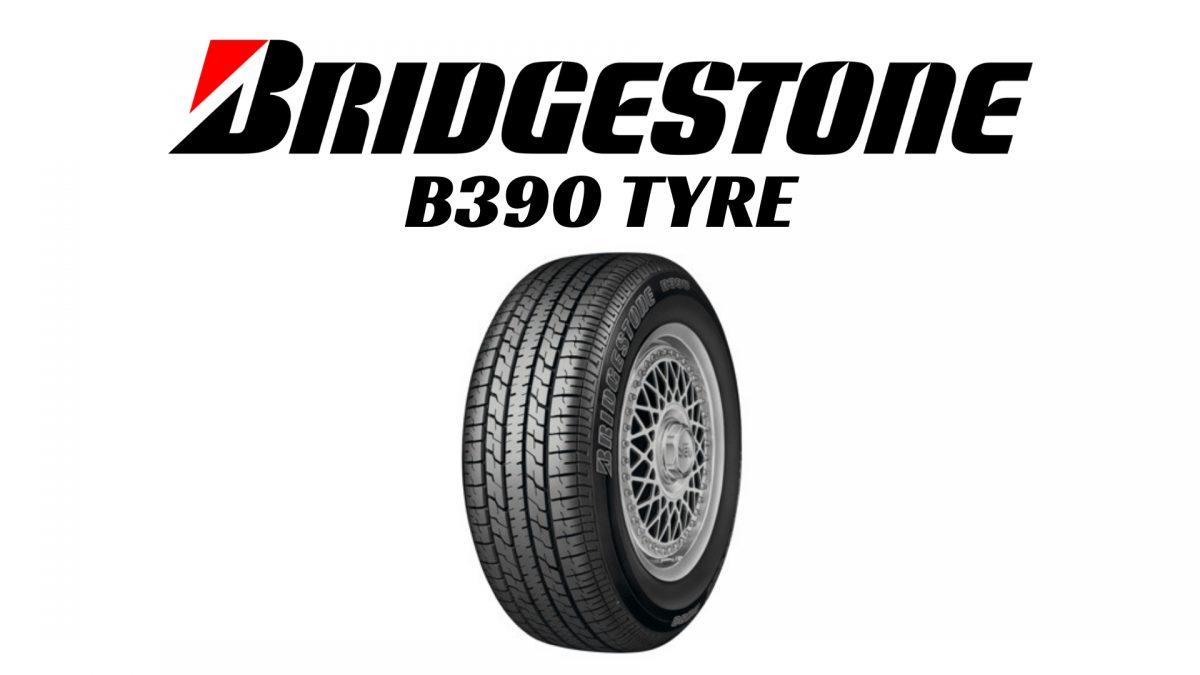 Bridgestone B390 Tyre