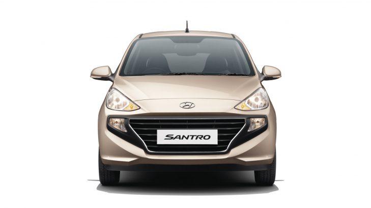 New Hyundai Santro Exterior
