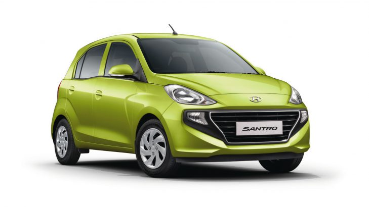 New Hyundai Santro Colors