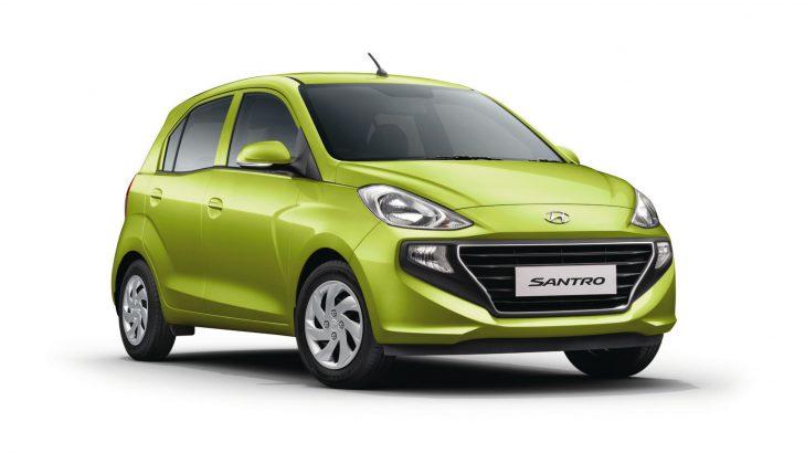 New Hyundai Santro Colors