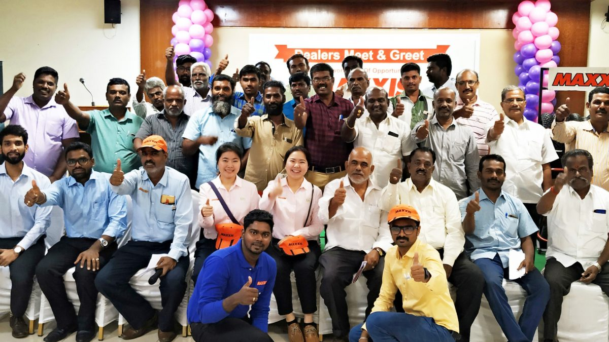 Maxxis Tyres Dealers Meet Trichy
