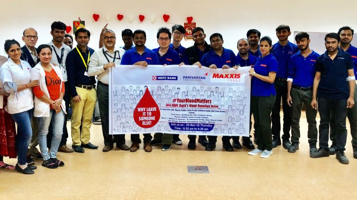 Maxxis Conducts Blood Donation Camp At Its Sanand Manufacturing Plant