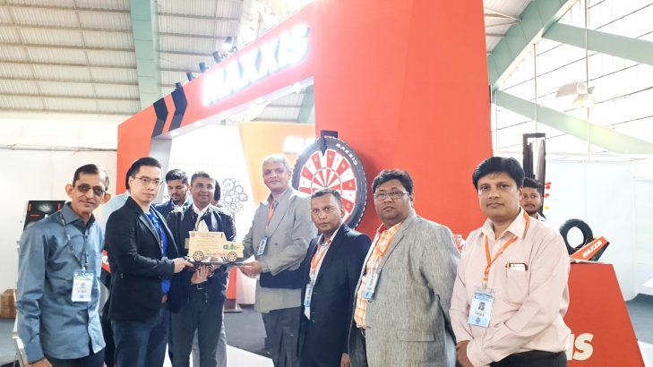 Maxxis Tyres Shines With Its Product Display At Surat Auto Expo 2019