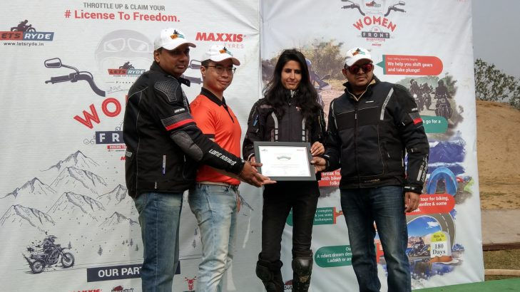Maxxis Tyres And Lets Ryde Certify The First Batch Of Women Riders