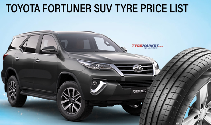 Toyota Fortuner Suv Tyres Price List 265 65 R17 265 60 R18 Tubeless