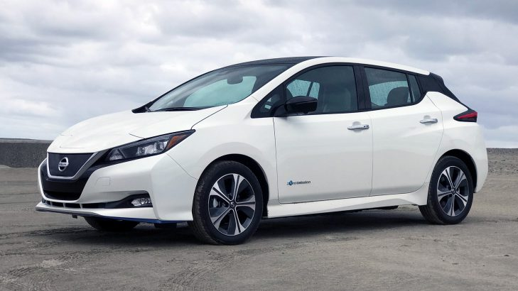 Nissan Leaf EV Launch