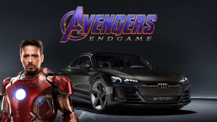 Avengers Endgame Audi E-Tron GT