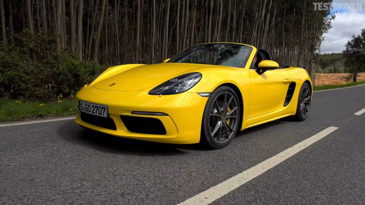 Porsche Boxster car