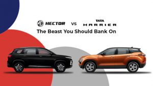 MG Hector Vs Tata Harrier